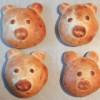 Neujahrs Frühstücks-Schweinderl - Vegetarisch
