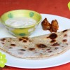 Indische Linsen Parathas  - Vegan Wednesday