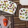 DIY - Blätter Schmetterling  stanzen