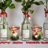 Silvester und Neujahr Tischdeko Ideen