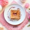 Herztoast zum Valentintags-Frühstück