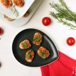 Crostini Pomodori e Ruccola