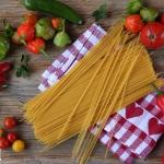 Himbeer Zitronen Pasta - vegetarisch