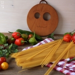 Pasta mit roher Tomatensauce