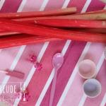 Rhabarber Erdbeer Pudding - vegetarisch