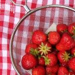 Erdbeer Bananen Eis - vegetarisch