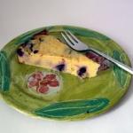 Heidelbeer Topfen Kuchen - vegetarisch