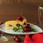 Topfen Himbeer Kuchen - vegetarisch