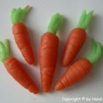 Marzipan Karotten