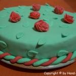 Röschen Torte