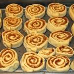 Cinnamon Rolls - amerikanische Zimt-Schnecken - vegetarisch