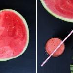 Wassermelonendrink - vegetarisch