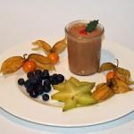 Weihnachtliches Mousse au Chocolat - vegetarisch