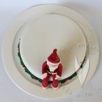Santa Weihnachts Torte