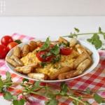Wirsing Gorgonzola Risotto - vegetarisch