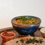 Feuerlinsen Dhal - Rote Linsen Curry indisch