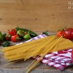 Paprika Kapern Rosmarin Pasta - vegetarisch