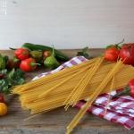 Zucchini Pasta mit Trüffelöl