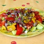 Insalata Tropeane - Salat, wie in Tropea (Kalabrien)