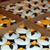 Muffin Arrangement als Hochzeitsgeschenk - vegetarisch