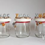 Keks Gläser als Weihnachtsgeschenk