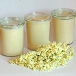Holunderblüten Honig Mascarpone Creme - vegetarisch