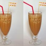 Kaffee Frappe mit Banane Kokos & Kakao