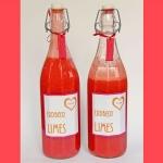 Erdbeer-Limes --> Achtung Suchtgefahr!