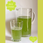 Green & fresh herb Lemonade