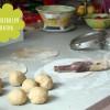 Kichererbsen (oder Linsen Dhal) Parathas (Fladen) - Indien
