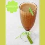 Experiment: milchloser Kaffee-Shake mit Banane