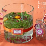 Raspberry Mint Infused Water - Wasser mit Himbeer Minz Aroma