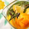 Orange Mint infused Water - Orange und Schoko-Minze