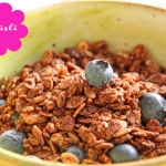 Schoko-Nuss-Kokos Granola Knusper-Müsli