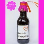 Schokosauce bzw Schokosirup & free Printable Etiketten