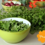 Zitronenmelissen-Zitronen-Pesto Pasta
