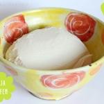 Veganer Topfen (Quark) selbst gemacht - Topfen aus Soja-Joghurt