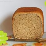 Dinkel Toastbrot aus dem Brotbackautomaten