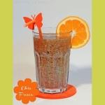 Chia Fresca - Orangensaft Chia Shake - mexikanischer Energy-Drink