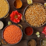 Mangold Dhal - Mangold Linsen Curry
