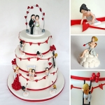 Love is in the air.....Valentinstag....Hochzeitstorte....