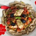 Paprika Artischocken Pastasauce - vegetarisch