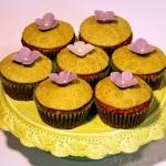 Orangen Muffins - vegetarisch