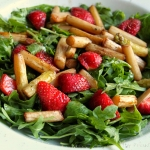 Spargel Erdbeer Ruccola Salat