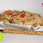 Asiatischer Glasnudel Salat  - Vegan Wednesday #97