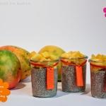 Chia Lucuma Pudding mit Mango
