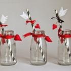 Valentinstag DIY: Strohhalme und Milchfläschchen