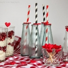 Valentinstag DIY: Herz-Sticks & Herz-Strohhalme