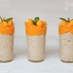 Reispudding mit Zimt - vegetarisch
