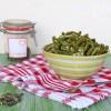 Fisolen Salat auf steirische Art